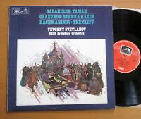 ASD 3660 Balakirev Glazunov Rachmaninov Svetlanov EXCELLENT Melodiya EMI