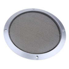 "8"" Speaker Grille Cover Loudspeaker Protective Mesh Cover Circle Silver"