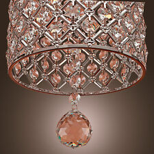 Modern Crystal Chandelier Ceiling Light Pendant Lamp Living Room Bedroom Fashion