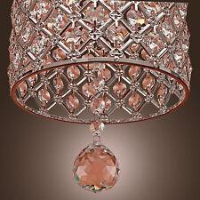 Modern Crystal Chandelier Ceiling Light Pendant Lamp Living Room Bedroom Fashion