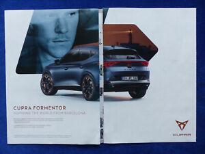 363) Seat Cupra Formentor - Werbeanzeige Reklame 2020 Wandkalender 2021