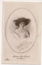 Vintage Postcard Duchess Sophia Charlotte of Oldenburg,Princess Eitel Friedrich