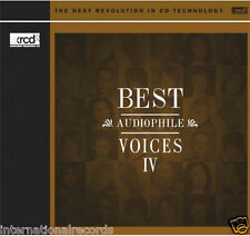 """Best Audiophile Voices Vol.4 IV"" Premium Records JVC Japan XRCD XRCD2 CD New"