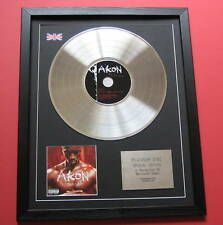 AKON Trouble CD / PLATINUM LP DISC Presentation