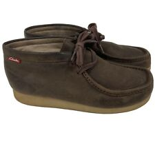 Wallabee Clarks Mens 8.5 Brown