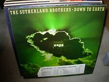 SUTHERLAND BROTHERS down to earth ( rock ) - WHITE LABEL PROMO -