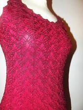 RENE DERHY ROBE DRESS  SOIREE CROCHET  T 36/38