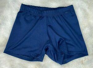 adidas by STELLA McCARTNEY Womens' Navy Blue Barricade Athletic Shorts Size XS