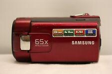 SAMSUNG SMX-F40RP SMX-F40RP/XEU DIGITAL CAMCORDER CAMERA 65X INTELLI ZOOM