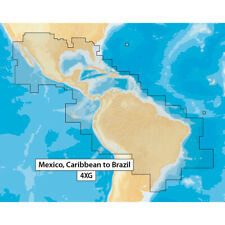 Navionics Msd/Nav+4Xg Navionics+ Mexico Caribbean To Brazil Microsd Format