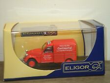 Citroen 2CV SAV Tracteurs Continental - Eligor 1:43 in Box *39622