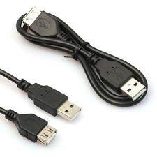 60cm USB Male to A Female Extension Extender Data M/F Adapter Cable Black Nice