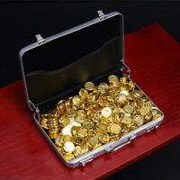 1/6 Scale Plastic Gold Coins Suitcase Scene Accessories For 12'' Figure Hot Toys