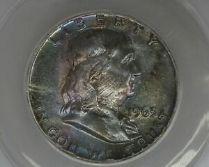 1963  .50  ANACS  MS 65   Franklin Half Dollar, Benjamin Half,Bell Half