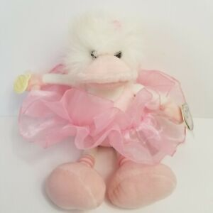 """ZOE BALLERINA DUCK BY GANZ THE HERITAGE COLLECTION  11"""""""