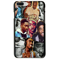 Unique! Tupac Shakur Soft TPU Case Cover For iphone X 5S 6S 7 8 Plus S9 S8
