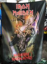 IRON MAIDEN Maiden England 2 FLAG CLOTH POSTER WALL TAPESTRY BANNER CD Metal