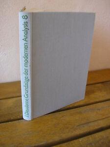 J. Dieudonné : Grundzüge der modernen analysis 1983