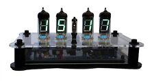Bausatz Nixie Ära VFD IV-12  IV-1 Uhr 12/24h Temp  Acrylgehäuse DIY Clock KIT