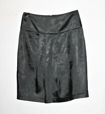 TOKITO Brand Black Pleated Front Above Knee Length Skirt Size 8 #SJ20