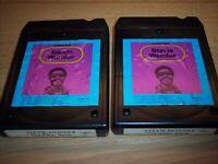 Stevie Wonder Looking Back Vol. I & Vol. II 2 8-Track's