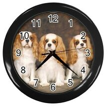New Cavalier King Charles Spaniel 10 inch Wall Clock Home Office Decor 89226905