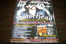 METAL HAMMER MAGAZINE 1/2011 MOTORHEAD DEATH CHUCK SCHULDINER DORO