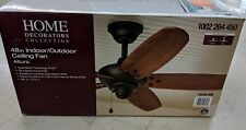 Home Decorators Altura 48 In. Indoor Outdoor Oil Rubbed Bronze Ceiling Fan New