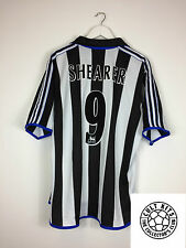 Newcastle United SHEARER #9 99/00 Home Football Shirt (XL) Soccer Jersey Adidas