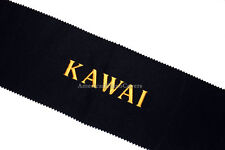Kawai Piano Key Cover - Black Premium Felt Embroidered Keyboard Cover
