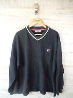 Vintage vtg 90s Fila oversize XL Jumper Sweater sweatshirt