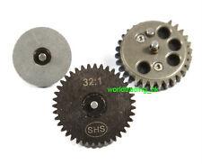 SHS (32:1) Gear Set For AEG Airsoft Gear Box V2/3 Marui G&P King Arms CA VFC UK