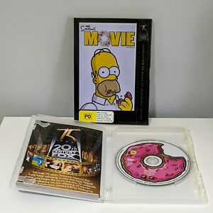 The Simpsons Movie Limited Edition Case & Disc PAL Reg 4 - Shipping Included