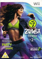 Zumba Fitness 2 Bundle Pack with Belt accessory Nintendo Wii ( NEW AND SEALED )
