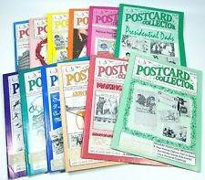 Postcard Collector Magazine Paper Ephemera Post Cards Stamps 1992 HUGE LOT OF 12