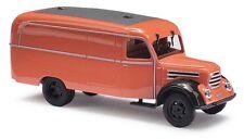 Busch 51800 - 1/87 / H0 Robur Garant K 30  Kastenwagen - Orange - Neu