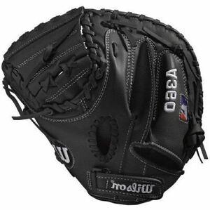 """Wilson A360 31.5"""" Youth Baseball Catcher's Mitt (Right Hand Throw)"""