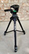"Camera Tripod Slik Universal U-112  3 Way Pan Tilt Quick Release Post Up To 58"""