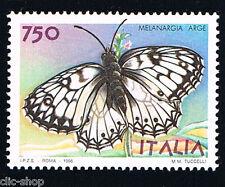 ITALIA FRANCOBOLLO ANIMALI FARFALLE MELANGIA ARGE 1996 nuovo**