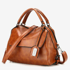 Women Ladies Leather Satchel Handbag Shoulder Bag Messenger Tote Crossbody Purse