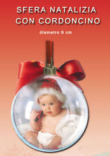 sfera natalizia  addobbi palla natale  albero  personalizzabile con foto