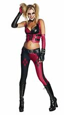 Harley Quinn Costume, Womens Arkham City Harley Quinn Outfit, Large, USA 10 - 38