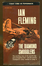The Diamond Smugglers by Ian Fleming-Collier Books PB First Printing-1964