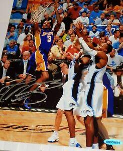 Autographed Trevor Ariza Signed LA Lakers 8x10 Basketball Photo (UDA Hologram)
