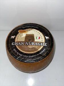 Pecorino Gran Nuraghe 700g 1/4 Wheel Cheese 36 Month Mature 100% Sheep Milk
