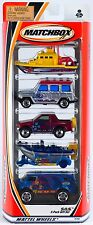 Matchbox S.O.S. SOS 5 Pack 2001 NEW Chevrolet Mercedes-Benz Isuzu Sea Rescue
