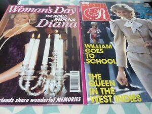 Two Princess Diana Magazines - one from Australia