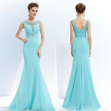 Elegant Mermaid Beaded Long Evening Party Dresses Prom Gowns Ever Pretty 08732