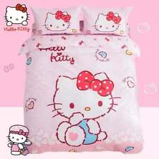 Hello Kitty Hearts Single Bed Quilt Cover Set