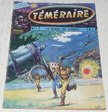 TEMERAIRE ARTIMA N°1 09-1958 TOMIC BATAILLE DES FLANDRES / HOMMES GRENOUILLES
